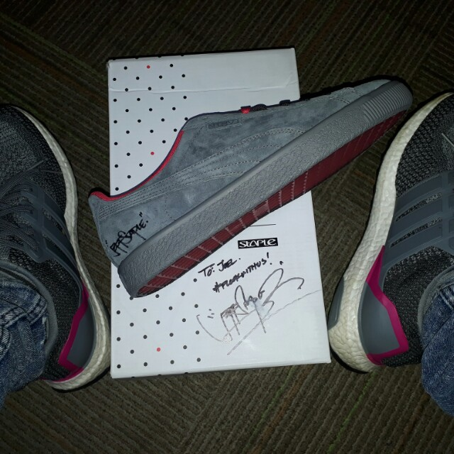 brand new 7fbbd 5d595 NOT FOR SALE ***Puma x Staple Clyde, Men's Fashion, Footwear ...