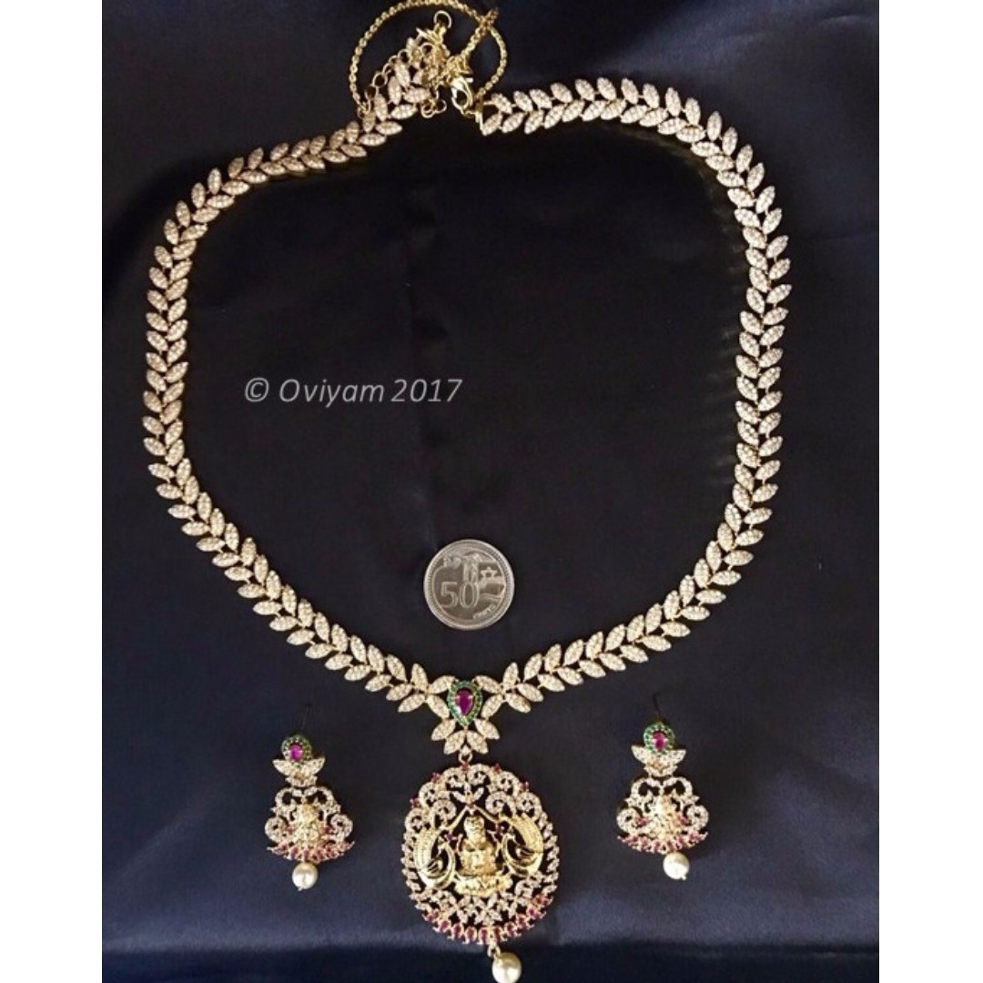 online costume red jewellery prices women india with oviya buy crystal fashion at low store in amazon white for necklace dp set