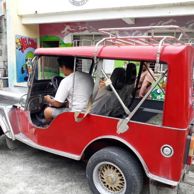 Owner type jeepney
