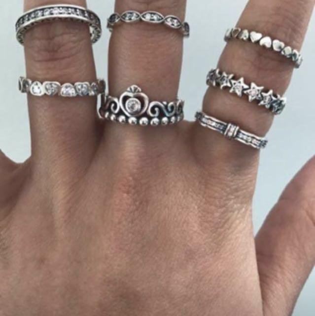 Pandora inspired ring