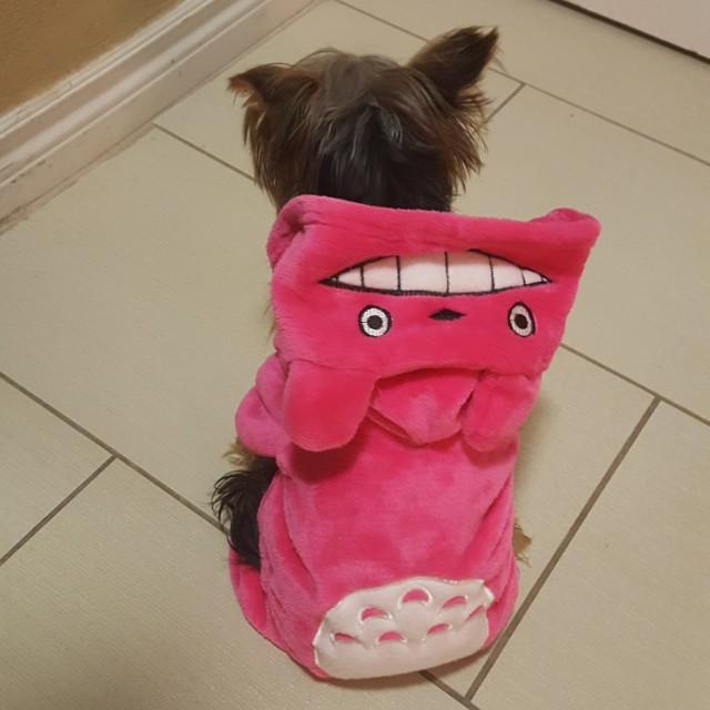 Pink Dog Onesie