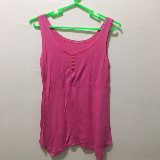 Pink top, small, no brand