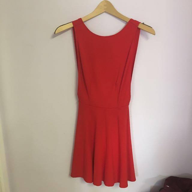 Price drop✨RED AMERICAN APPAREL DRESS