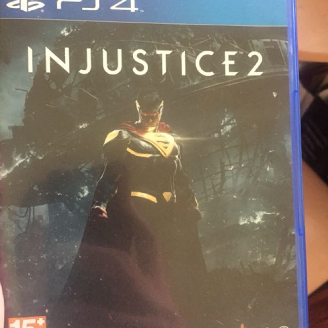 PS4 Game - Injustice 2