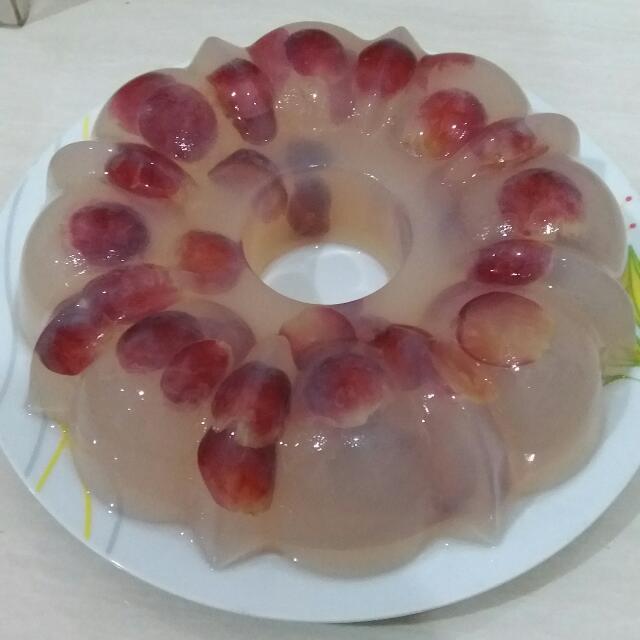 Pudding Anggur
