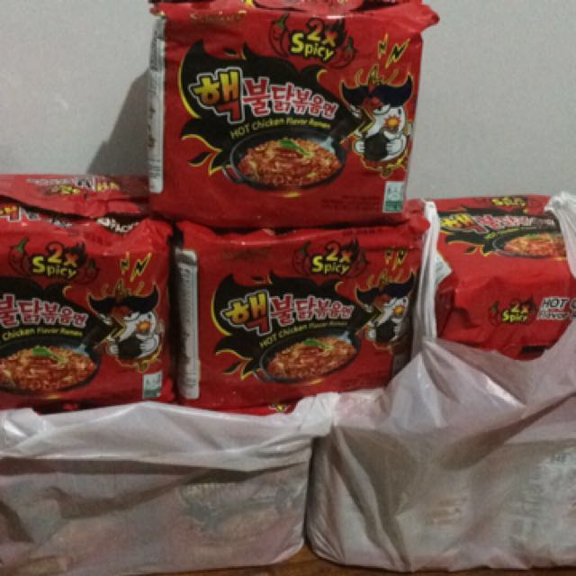 READY TO SHIP /DELIVER Samyang 2xspicy Ramen Noodles