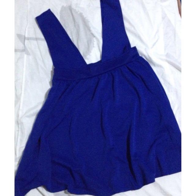 Repriced! Blue Jumper Skirt