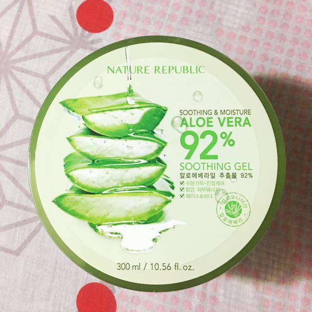 📌REPRICED: Nature Republic Soothing Aloe Vera Gel