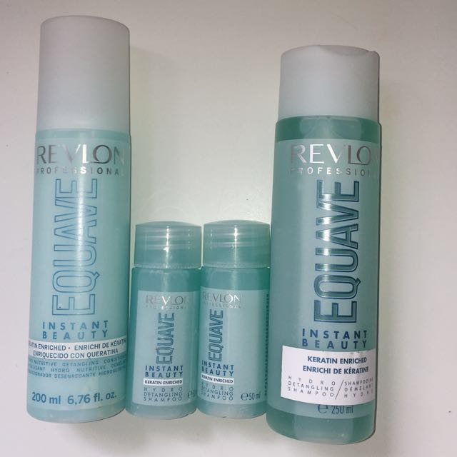 Revlon Professional Salon Shampoo & Keratin treatment