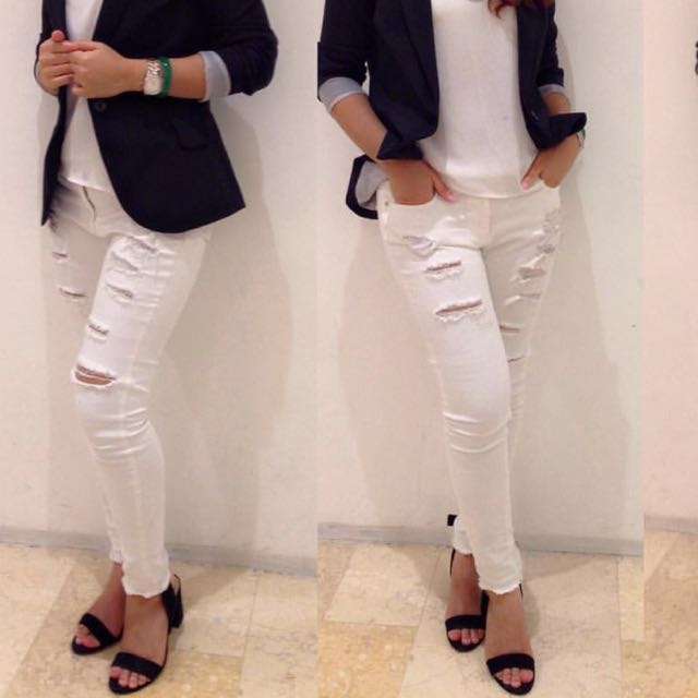 Ripped Jeans Authentic Korea
