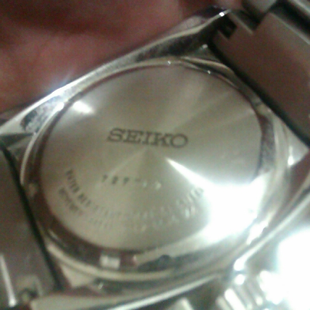 Seiko Velatura Replica Battery Operated Watch Steel