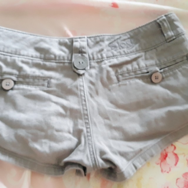 Sexy grey shorts