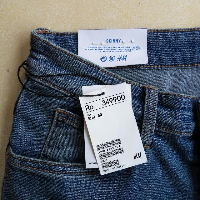 Skinny Jeans By H&M For Men