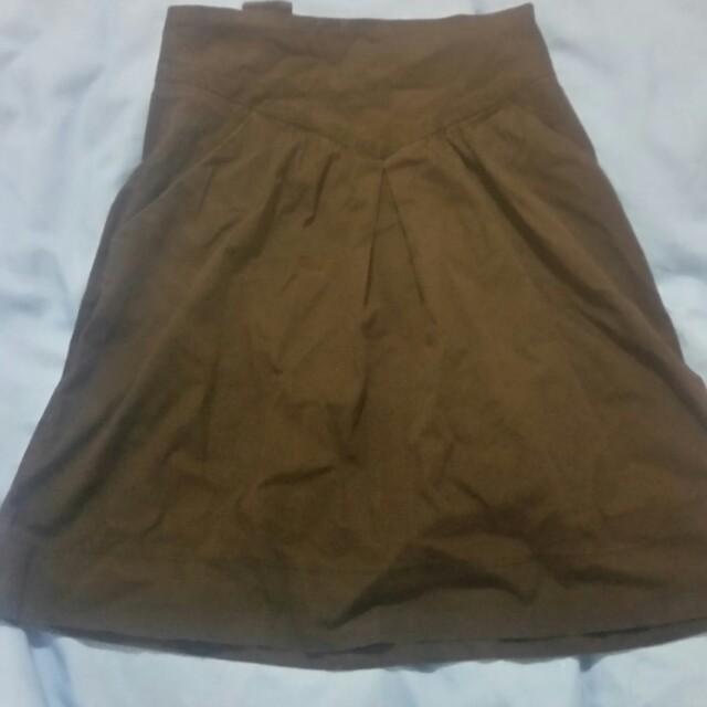 Supre Black suspender skirt