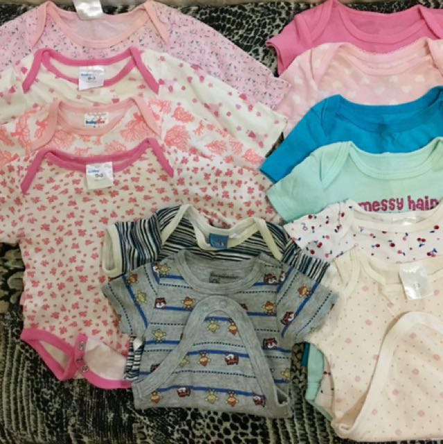 4c6df80a0597d Take ALL Baby Girl newborn suits, bodysuits and doll shoe for 950php ...