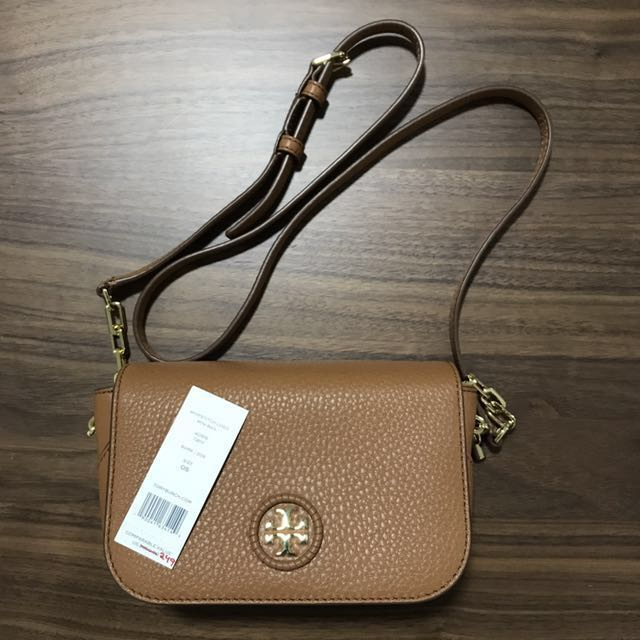 f16ecf7943c Tory Burch Mini Sling Bag (Whipstitch Logo Mini Bag)