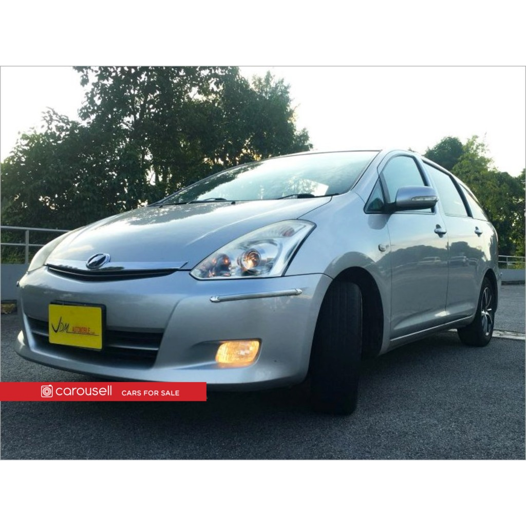 Toyota Wish 4.4A (COE till 4/4), Cars, Used Cars on Carousell