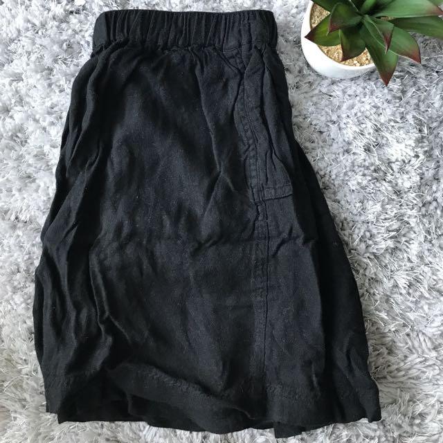 Urban Outfitters Black Skater Skirt Small