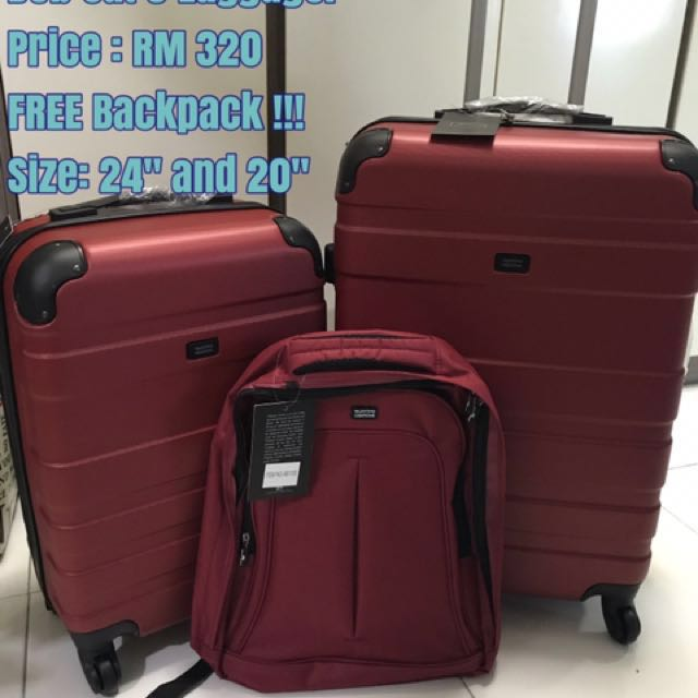 0f70bdca37f Valentino Creations Bob 3 Luggage bag, Luxury, Bags & Wallets on Carousell