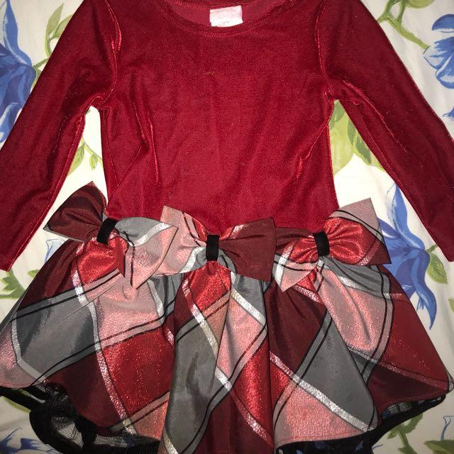 Velvet party dress euc $10 each