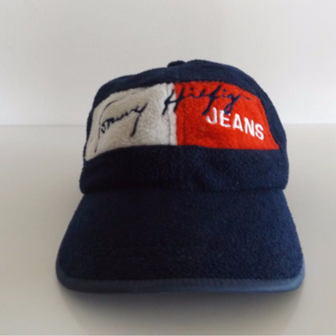23f5407d VINTAGE TOMMY HILFIGER 90S FLEECE CAP, Men's Fashion, Clothes on Carousell