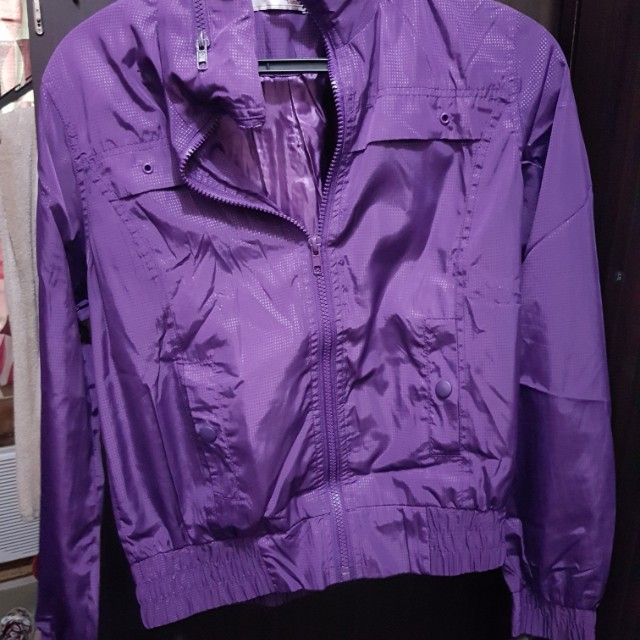 Violet pocketable jacket