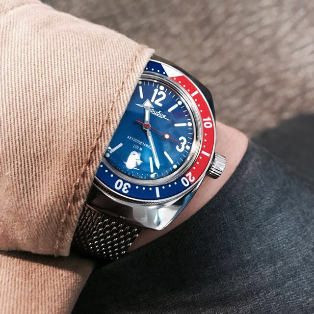 Vostok amphibia diver Automatic Watch From Russia aa0a4350a2
