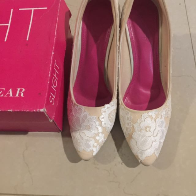Wedding heels slight super nyaman