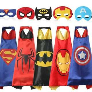 Superhero Cape and Mask (retail)