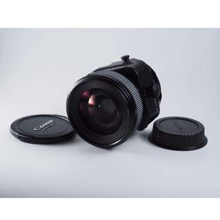 Canon 45mm tilt shift lens