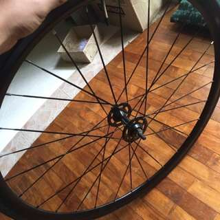 Trade for QR front wheel