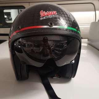 vespa club 碳纖頭盔