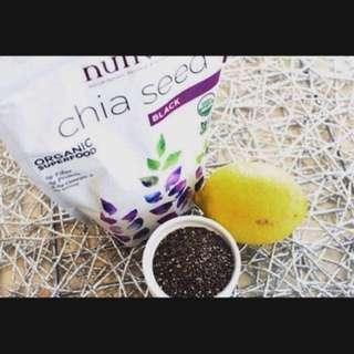 32ozs Nutiva Black Chia Seed 有機奇亞籽
