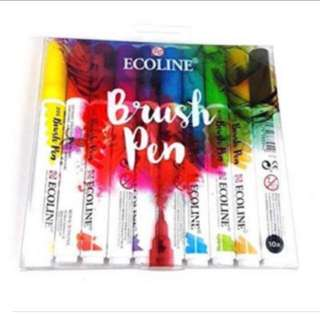 Ecoline Liquid Water Color Brush / bottle