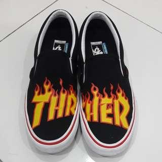 Vans X Thrasher Slip on