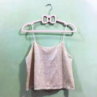 Gelivanelli Couture Sparkly Crop Top