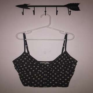 Garage cropped tank top