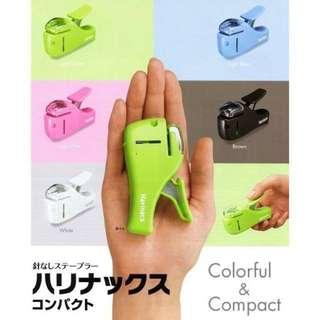 日本無針訂書機