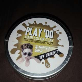 Play 'do Hairwax in Gangsta Gold (Clearance Sale)
