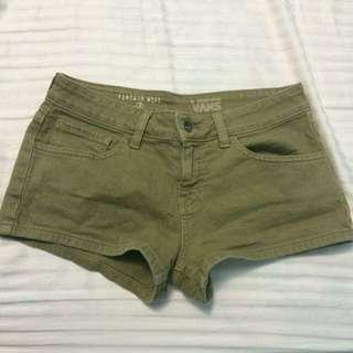 VANS Navy Green Shorts