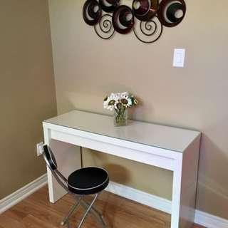 White Desk/Vanity