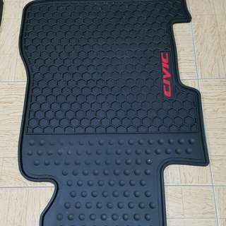 Anti-slip rubber matting for Honda Civic FD