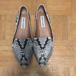 Steve Madden Snake Leather