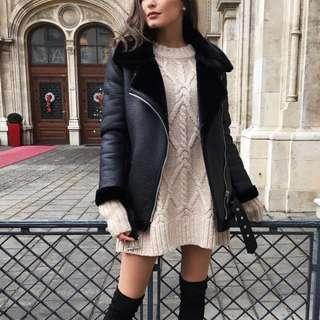 Zara Woman Biker Jacket Size XS