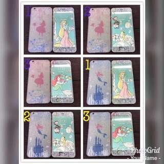 迪士尼公主系列硬底軟邊📱mon貼+殼