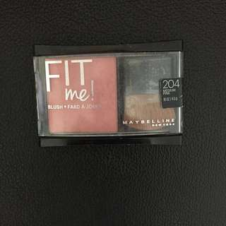 BLUSH ON FIT ME MAYBELLINE