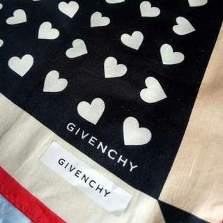 Authentic givenchy handkerchief