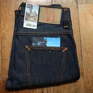 SALE - BNWT Nudie Jeans Grim Tim Dry Navy