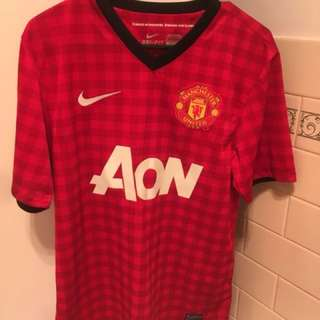 Nike Dri-Fit Manchester United Home Stadium Jersey Size S