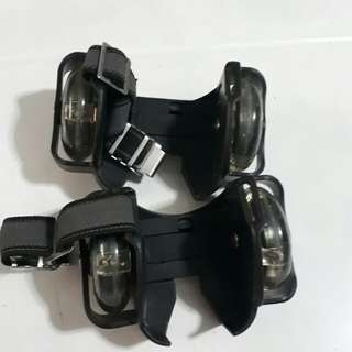 Clip On Roller Skate with LED light